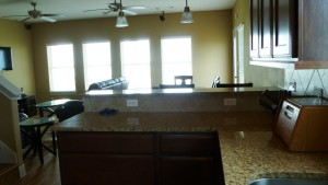 10 kitchen to dining