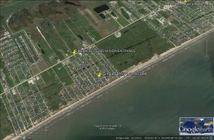 851 Palmetto: BEACH VIEW  2 LOTS  Build 1 or 2 Resort Homes in Emerald 1 Crystal Beach, TX 77650