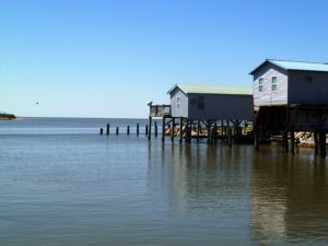 Saltwater Legendary Paradise on this 3.57 +/- Tracts with 5 rental units. Unlimited Potential for Marina Development.