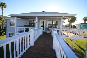 SOLD! Galveston Bay Home 1308 Sievers Cove.   Bulkhead, Boat Dock with Lift, East Bay ACCESS, Galveston County.  Near Crystal Beach and the Galveston Ferry on Bolivar Peninsula