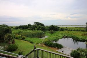 Bungalow on 1/2 acre+/-. Reduced! Views of Beach, Bay, Lighthouse, Fort Travis, Oyster Lake. Next to protected Bird Sanctuary. Energy Efficient. Paradise on Bolivar Peninsula.